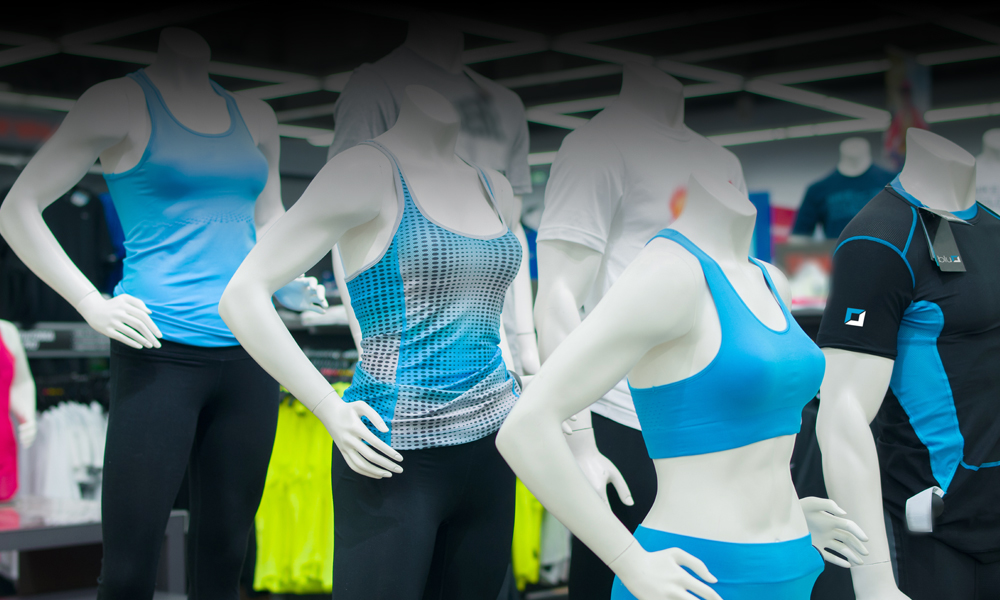 Branded Retail Products for Gyms and Leisure Centres